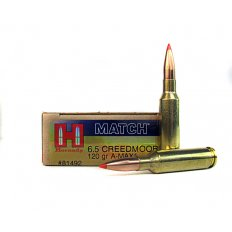 Hornady Match 6.5 Creedmoor 120 Gr. A-Max Boat Tail- 81492