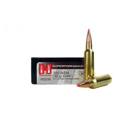 Hornady Superformance GMX .300 Winchester Short Magnum (WSM) 165 Gr. GMX Boat Tail- 82206