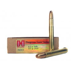Hornady Dangerous Game 9.3x74mm Rimmed 300 Gr. DGS- 82314
