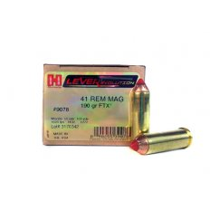 Hornady LEVERevolution .41 Remington Magnum 190 Gr. FTX-  9078
