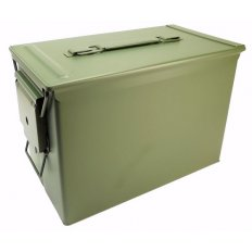 "PA108 Fat Fifty Ammo Can .50 Caliber New 12"" x 6-3/4"" x 8-1/2""- A10106"