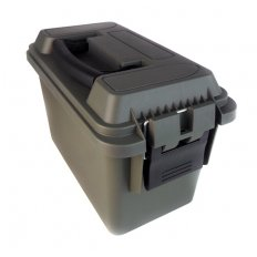 "Plastic Ammo Can .50 Caliber New 11"" x 5-1/2"" x 7"" Olive Drab- A10122"