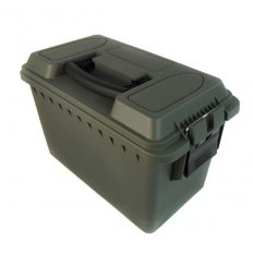 "Plastic Ammo Can Fat .50 Caliber New 13.5"" x 7.5"" x 8.5"" A10224"