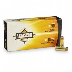 Armscor Precison 10mm Auto 180 Gr. Full Metal Jacket- A10FMJ