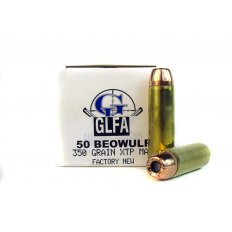 GLFA .50 Beowulf 350 Gr. Hornady XTP Hollow Point- A687238