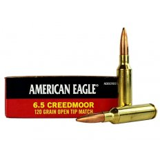 Federal American Eagle 6.5 Creedmoor 120 Gr. Open Tip Match AE65CRD2