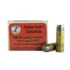 Jamison Prowler Grade .500 Wyoming Express 370 Gr. Lead Round Nose Flat Point- 500WE370PRL