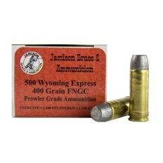 Jamison Prowler Grade .500 Wyoming Express 400 Gr. Lead Round Nose Flat Point-AJ500WY400