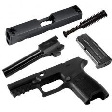 SIG SAUER Caliber X-Change Kit P320 Sub-Compact 9mm- Black
