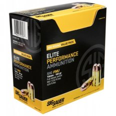 SIG SAUER Elite Performance 10mm AUTO 180 Gr. Full Metal Jacket- E10MB1-200