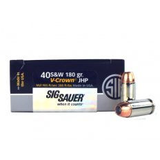 SIG SAUER Elite Performance .40 S&W 180 Gr. V-Crown JHP E40SW2-50