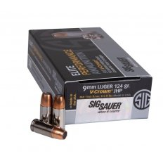 SIG SAUER Elite Performance 9mm Luger 124 Gr. V-Crown JHP- E9MMA2-50