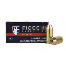 Fiocchi Shooting Dynamics .45 ACP 230 Gr. Jacketed Hollow Point- 45T
