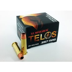 G2 Research Telos .357 Magnum 105 Gr. Solid Copper Fragmenting Projectile- G00626
