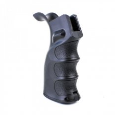 AR15 Ergonomic Pistol Grip with Beavertail- Black- HG003