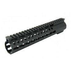 AR15 Slim KeyMod Free-Float Clamp-On Handguard with Detachable Rails 12""