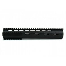 "AR15 Carbon Fiber Tube Style Free-Float Handguard with Removable Picatinny Rails 12""- Black- HG06-12"