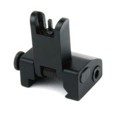AR15 Same Plane Flip-Up A2 Style Front Back-Up Iron Sight- Black- IS006