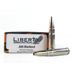 Liberty Animal Instinct .300 Blackout 96 Gr Fragmenting Hollow Point- Lead Free LA-HA-C-300-044