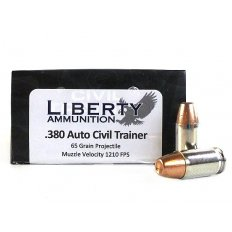 Liberty Civil Trainer .380 Auto 65 Gr. Frangible Lead-Free LA-TR-380-04