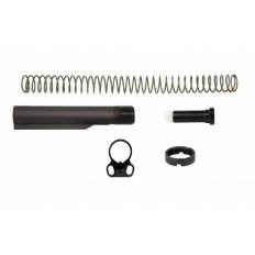 AR10 Mil-Spec 6 Position Rifle Buffer Tube Kit with Ambidextrous End Plate- MAR047-308-B