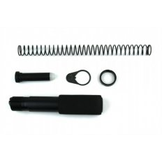 AR15 Pistol Buffer Tube Kit with Regular End Plate- Aluminum Black- MAR049-A