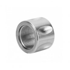 "AR10 .308 Thread Protector 5/8""x24 Thread with Crush Washer- Stainless Steel Silver-MAR076-N"