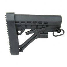 AR15 M-4 Style 6-Position Mil-Spec Stock with QD sling Swivel and Butt Pad- MAR082-G