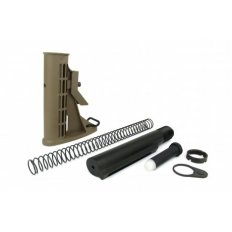 AR15 M4 Style 6-Position Commercial Stock Kit- Tan- MAR085-T