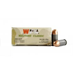 Wolf Military Classic .380 ACP 94 Gr. Full Metal Jacket (Bi-Metal)- MC917FMJ
