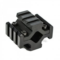 AR15 Universal Picatinny Quad Rail Barrel Mount- Aluminum Black- MT001
