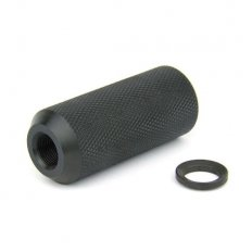 "AR15 Krinkov Hollow Style 1 Piece Muzzle Brake 1/2""x28 Thread with Crush Washer-MZ1015"