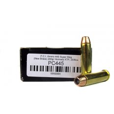 PCI .445 SuperMag 240 Gr. Hornady XTP Jacketed Hollow Point- PC445