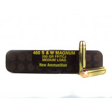 PCI .460 S&W Magnum 250 Gr. Total Copper Jacket Flat Point- PC460SW