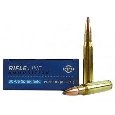 Prvi Partizan .30-06 Springfield 165 Gr. Pointed Soft Point Boat Tail- Box of 20 PPU30062