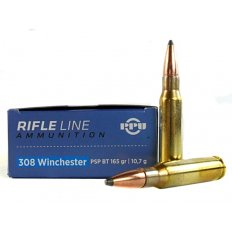 Prvi Partizan .308 Winchester 165 Gr. Pointed Soft Point Boat Tail PP3082