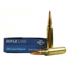 Prvi Partizan .338 Lapua Magnum 250 Gr. Hollow Point Boat Tail PP338H