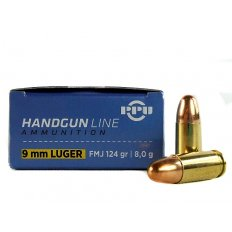 Prvi Partizan 9mm Luger 124 Gr. Full Metal Jacket PPH9F2