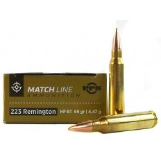 Prvi Partizan Match .223 Remington 69 Gr. Hollow Point Boat Tail PPM2231