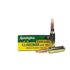 Remington Core-Lokt 6.5 Creedmoor 140 Gr. Core-Lokt Pointed Soft Point- R65CRD1