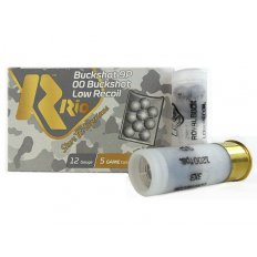 "Rio Low Recoil 12 Ga 2-3/4"" 9 Pellets 00 Buckshot RBLR129"