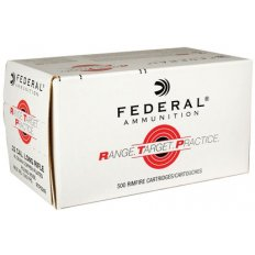 Federal Range Target Practice (RTP) .22 Long Rifle 40 Gr. Copper Plated Round Nose- RTP2240-CASE