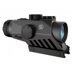 SIG SAUER BRAVO4 5.56mm/7.62mm 4x30mm Wide-Field Battle Sight, Illum. Reticle- Graphite