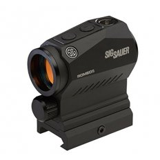 SIG SAUER ROMEO5 1x20mm Compact Red Dot Sight 2 MOA Red Dot with M1913 Riser- Black