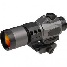 SIG SAUER ROMEO6H 1x30mm Red Dot Sight w/Mount- 2 MOA Ballistic Circle Plex Reticle- SOR61011