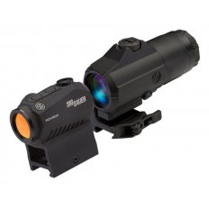 SIG SAUER COMBO KIT, JULIET 3x Magnifier + ROMEO5 1x20mm Compact Red Dot Sight-SORJ53101