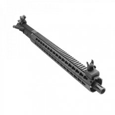 "AR15 Upper Build- 5.56 NATO 1:7 16"" Barrel w/ 16"" Free Float Keymod Handguard Rail and Flip-Up Sights- UB-AR-FKM16-RS051"