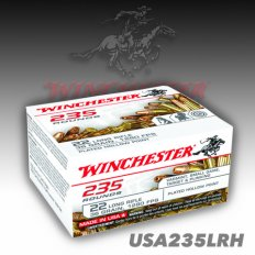 Winchester .22 Long Rifle 36 Grain Plated Lead Hollow Point- Box of 235