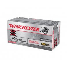 Winchester Super-X .22 Long Rifle 37 Gr. Plated Lead Hollow Point