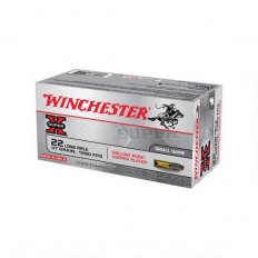 Winchester Super-X .22 Long Rifle 37 Gr. Plated Lead Hollow Point- X22LRH